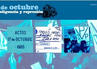Colección documental | 17 de octubre, inteligencia y represión