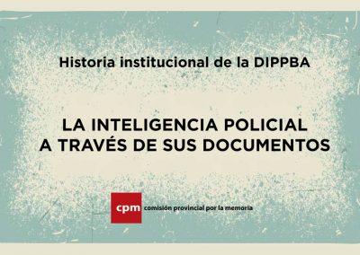 Revista | Historia institucional de la DIPPBA