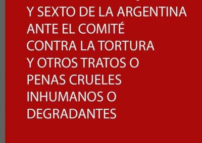 Informe alternativo ante el Comité contra la Tortura y otros tratos o penas crueles inhumanos o degradantes