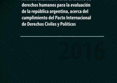 Informe al Comité de los Derechos del Niño de Naciones Unidas