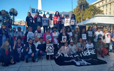 LA CPM PARTICIPÓ EN LA MARCHA POR EL DÍA NACIONAL CONTRA LA VIOLENCIA INSTITUCIONAL La lucha de las familias en la plaza