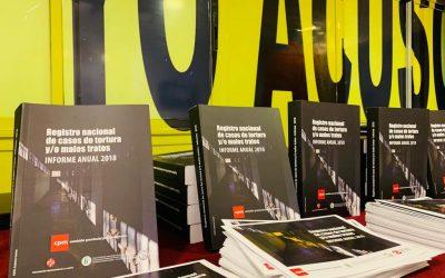 Inspecciones, registro, denuncia e intervención Se presentó el informe 2018 del Registro Nacional de Casos de Tortura