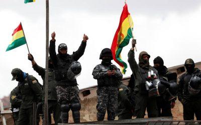 EN DEFENSA DEL LEGÍTIMO GOBIERNO DEL ESTADO PLURINACIONAL DE BOLIVIA No al golpe de Estado