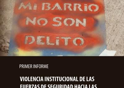 Violencia institucional de las fuerzas de seguridad hacia las niñeces y las juventudes de La Matanza