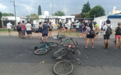 Violenta represión contra ambientalistas en San Nicolás La represión a la protesta no es el camino de la democracia